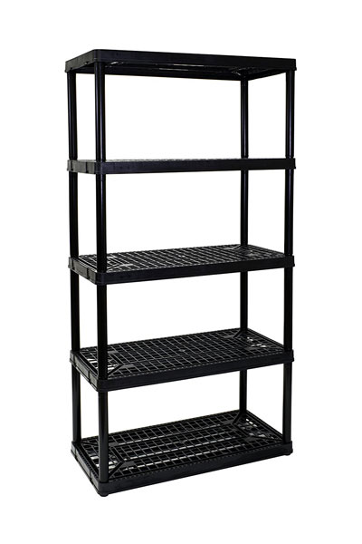 Gracious Living 5-Shelf Heavy Duty Shelf Unit