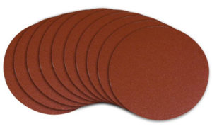 Sanding Disk and the Sandpaper Grades