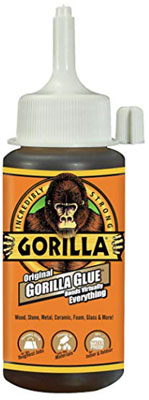how quick does gorilla glue take to dry?