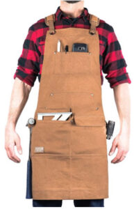 Protective Woodworking Apron